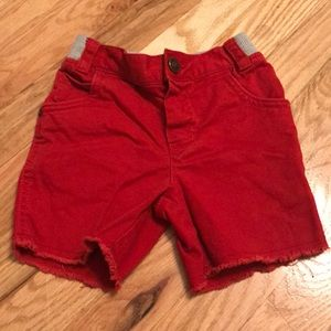Oshkosh Red denim cutoffs